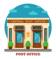 National post office for mail services vector image