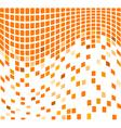 Wave mosaic vector image