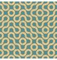 Seamless Wavy Geometric Lines Irregular vector image
