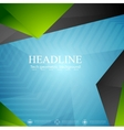 Bright tech modern corporate background vector image vector image