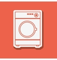 washer icon design vector image