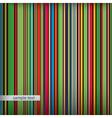 Retro stripes pattern vector image