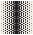 Seamless Triangle Halftone Geometric vector image