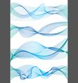Abstract wave background vector image