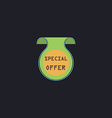 Special Offer computer symbol vector image vector image