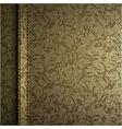 textile texture background vector image