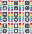 Router Headphones Receiver Camera Ship Database vector image