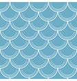 Seamless pattern with scale vector image
