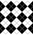 Black White Chess Board Background vector image