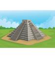 Pyramid of the sun Chichen Itza vector image
