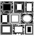 picture frame vector image vector image