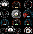 car speedometers vector image vector image