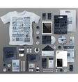Abstract business set Corporate identity vector image