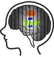 Child depression vector image vector image