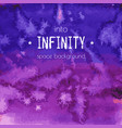 into infinity space background vector image