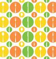 Vintage Cutlery Pattern vector image vector image