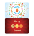 backgrounds - happy easter vector image