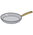 Steel pan vector image