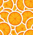 Orange seamless background vector image vector image
