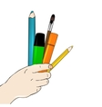 Arts concept vector image