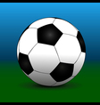 Green blue futball background vector image vector image