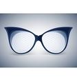 facet sunglasses vector image