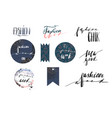 hand drawn template collection with vector image