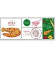 Italian Restaurant Corporate Identity Template vector image