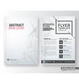 Multipurpose corporate business flyer template vector image