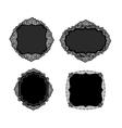 vintage lacy labels vector image