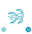 E-mail logo vector image