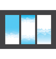 Nature background blue sky and cloud element 004 vector image vector image