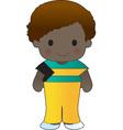 Poppy Bahamas Boy vector image vector image
