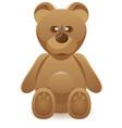 teddy bear vector image vector image
