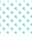Jellyfish pattern cartoon style vector image