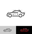 Car polish logo vector image