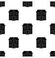 Private cottagerealtor single icon in black style vector image