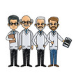 medical professional people vector image