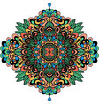 abstract ethnic ornament asian pattern colorful vector image