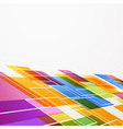 Bright colorful abstract tile background vector image