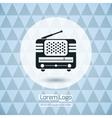Radio Icon Logo vector image