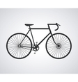 Racing bike design vector image
