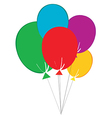 Birthday Baloons vector image vector image