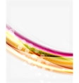 Translucent wave line business or vector image vector image