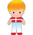 Poppy Denmark Boy vector image vector image