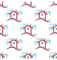 Downtown pattern vector image