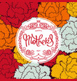 festive mothers day backgraund vector image