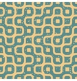 Seamless Wavy Lines Irregular Retro Grungy vector image