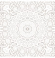 mandala background ethnicity oriental ornament vector image