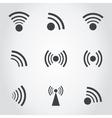 Signal an icon vector image